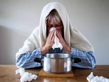 Aantal griepgevallen weer gestegen