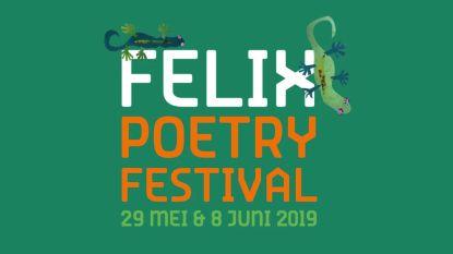 Elfde editie Felix Poetry Festival brengt internationale dichters naar Antwerpen