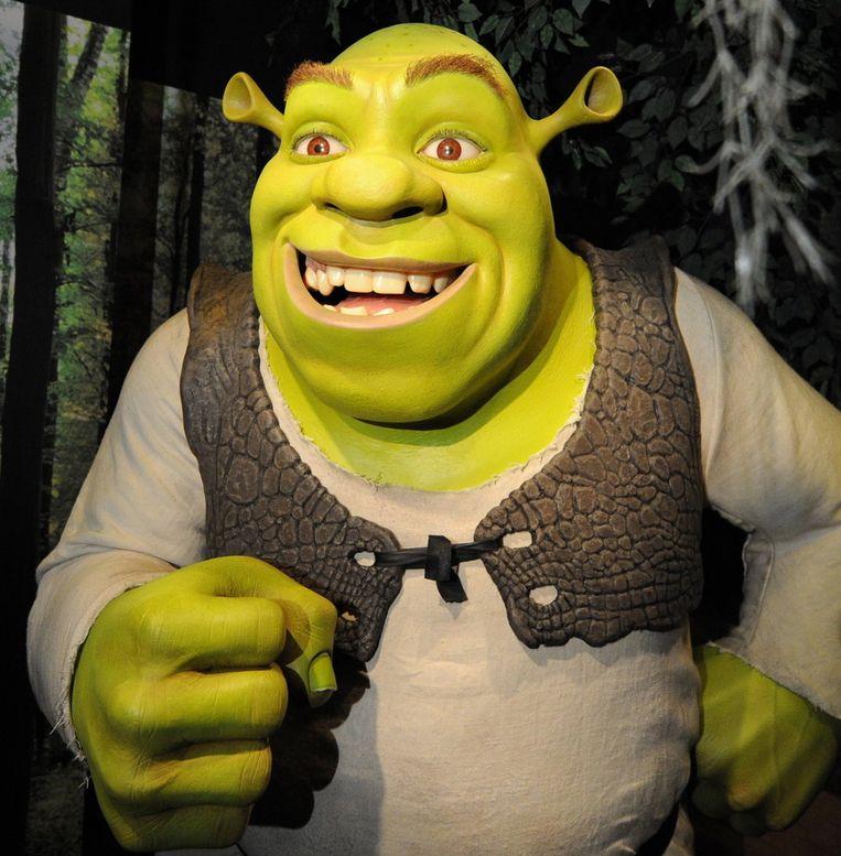 De avonturen van Shrek zijn volgend jaar in Nederlandse theaters te zien. © ANP Beeld