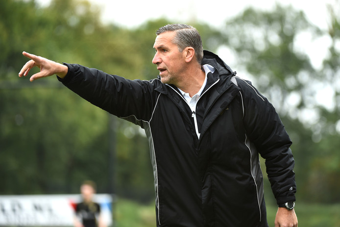 FC Winterswijk-trainer John Gielink