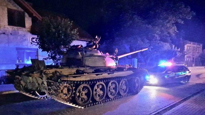 Een tank uit de Tweede Wereldoorlog.