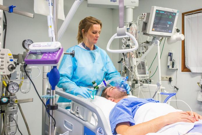 Van Weel-Bethesda Ziekenhuis in Dirksland.