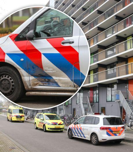 Ongeluk op weg naar reanimatie baby in Apeldoorn: politie geramd