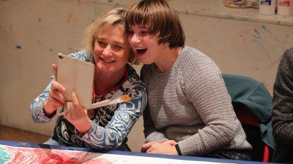 Delphine Boël laat heisa achterwege met workshop voor mindervaliden in Oostende