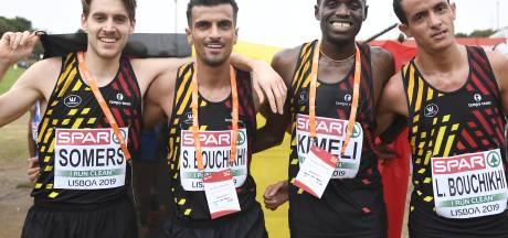 Euro de cross-country: la Belgique médaillée d'argent par équipes
