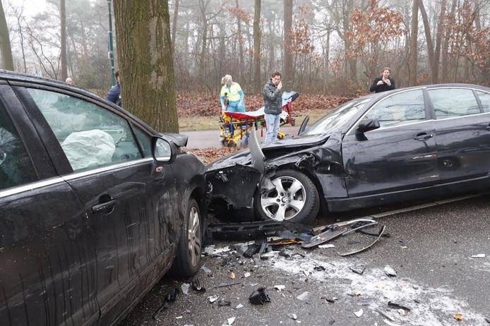Flinke schade aan de auto's