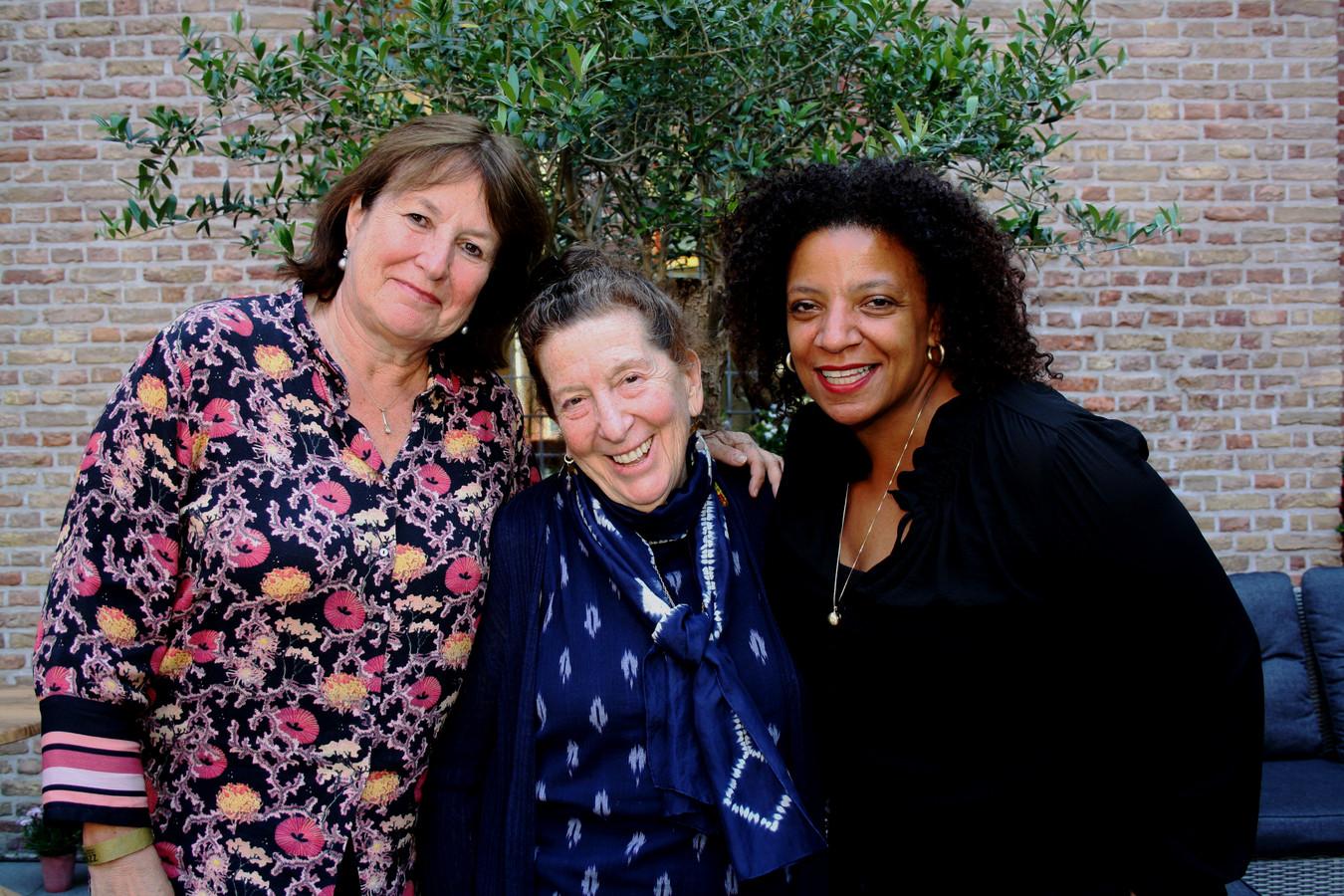 Dominique Citroen, Maxine Gordon en Denise Thigpen.