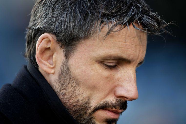 Coach Mark van Bommel van PSV.  Beeld ANP