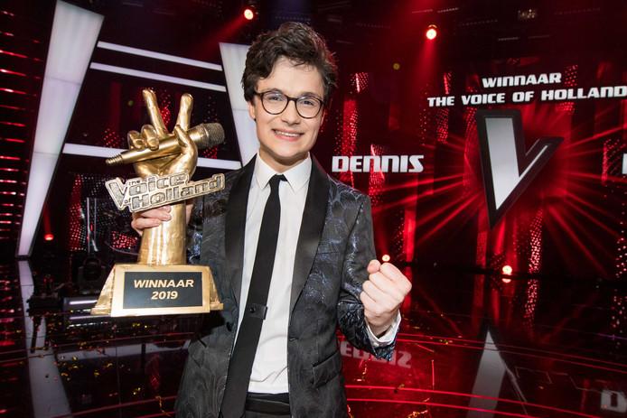 Winnaar Dennis van Aarssen