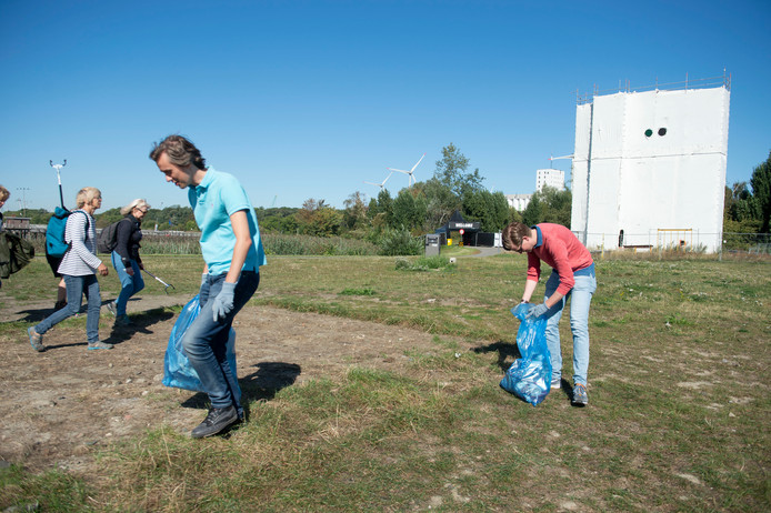 World Clean up Day in Antwerpen
