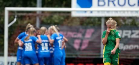 PEC Zwolle Vrouwen schrijven geschiedenis met zege op eerste speeldag