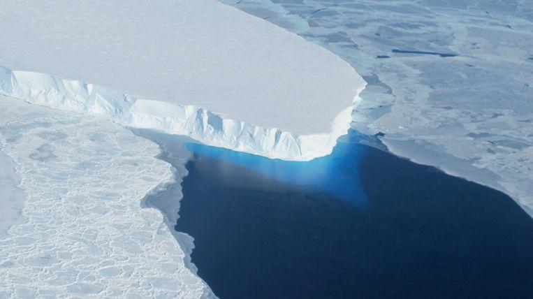 De Thwaites-gletsjer.