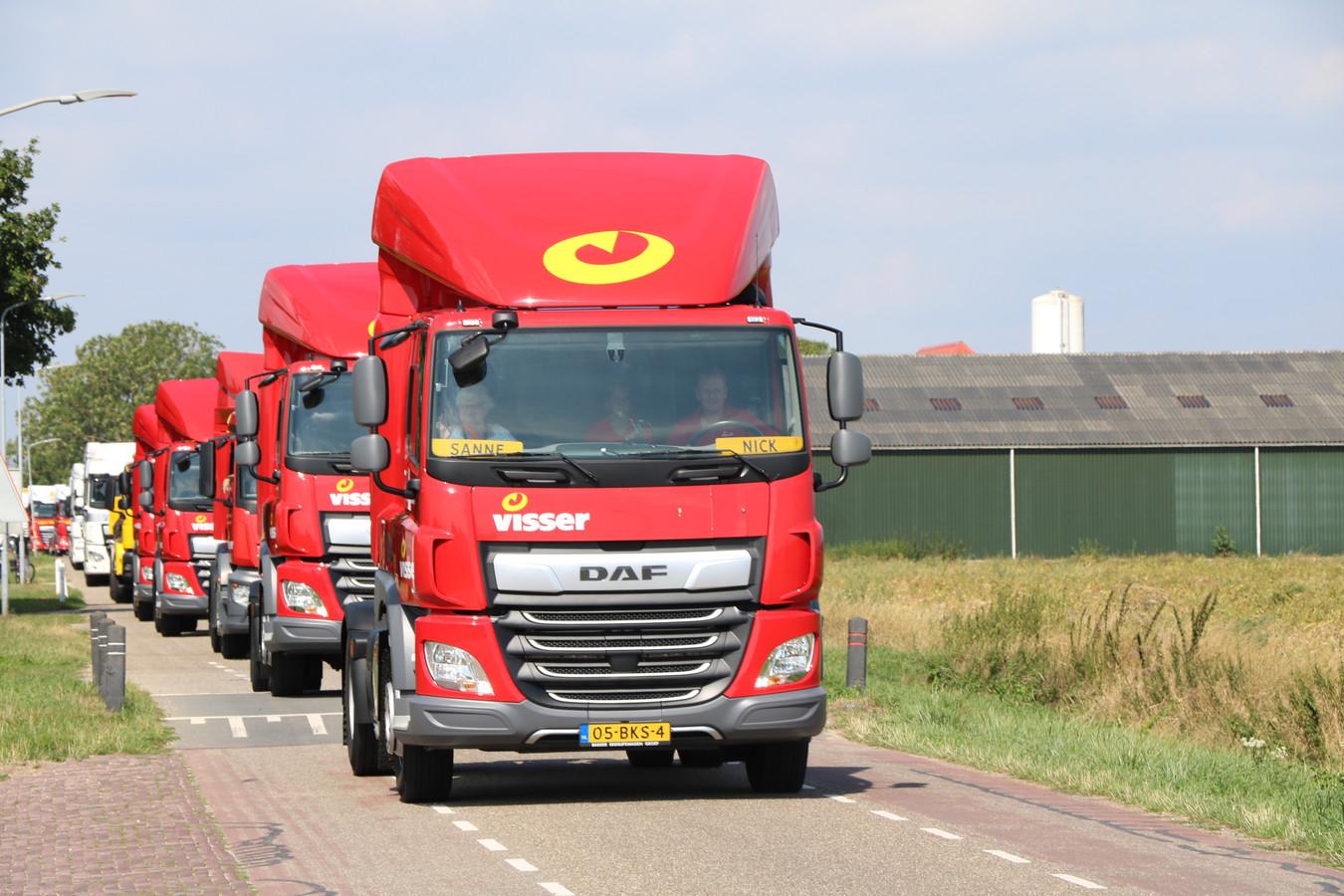125 chauffeurs uit de Liemers bezorgen mensen met een handicap een leuke middag door ze een dagje mee te nemen in hun trucks.