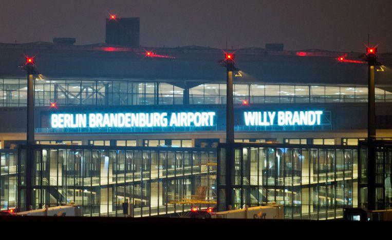 Lufthafen Berlin-Brandenburg Willy Brandt gaat op zijn vroegst in 2016 open. Beeld epa
