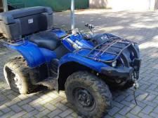 Bestuurder die met quad politie-auto ramde in Wezep meldt zich