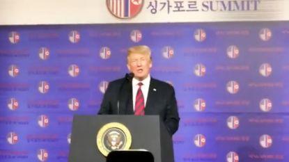 """Trump haalt enkele uren voor begin van top uit naar """"losers en haters"""""""