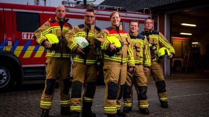 """Katrien (38) is eerste vrouwelijke brandweercommandant van het land: """"De lat moet voor iedereen even hoog liggen"""""""