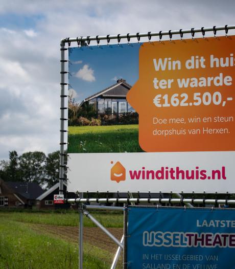 Geen vakantiewoning of Ferrari: streep door loterij voor dorpshuis Herxen