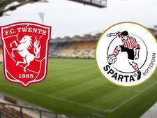Degradatiekraker tussen Twente en Sparta