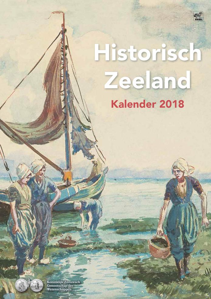 De kalender Historisch Zeeland voor 2018
