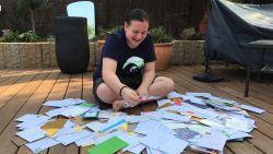 Rune herstelt goed nadat tumor werd weggehaald en kreeg honderden kaartjes na oproep in deze krant