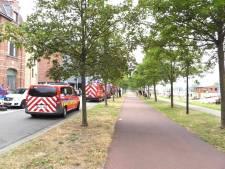 Even opschudding in Brugge door vermeende drenkeling aan Kolenkaai