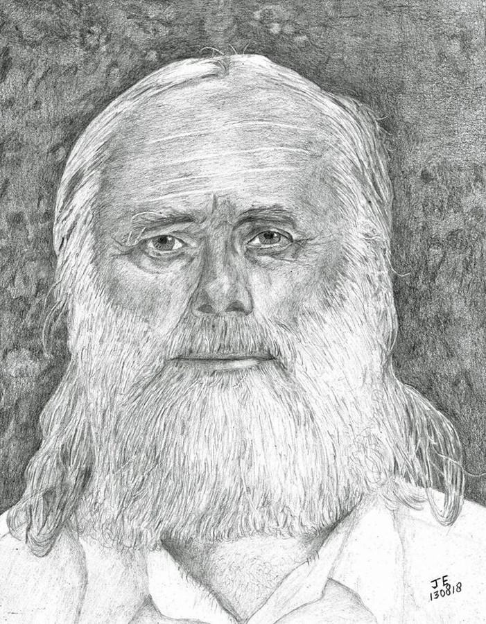 Tekening van Gerrit-Jan van D.