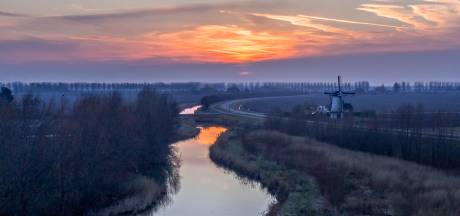 Dronebeeld van Oud-Vossemeer goed voor publieksprijs bij fotowedstrijd