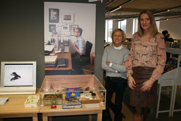 De tentoonstelling toont voor het eerst enkele voorwerpen van schrijver Bart Moeyaert.