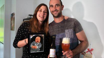 """Koppel brouwt Paulinebier om overleden dochtertje te herdenken: """"Bier met een sterk karakter voor een nog sterkere madame"""""""