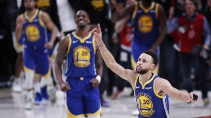 VIDEO. Golden State plaatst zich voor vijfde opeenvolgende finale