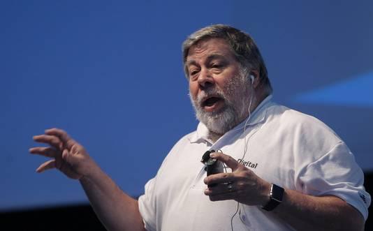 Steve Wozniak, medeoprichter Apple.