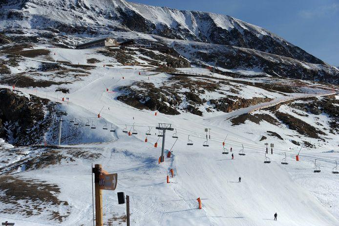 Archiefbeeld skigebied Alpe d'Huez