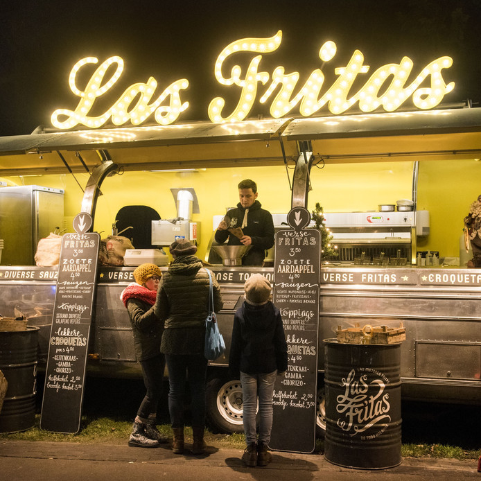 Winterland Breda is een sprookjesmarkt met eten en drinken.