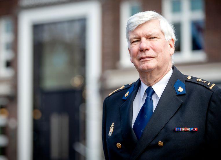 Henk van Essen, korpschef van de Nationale Politie. Beeld Hollandse Hoogte /  ANP