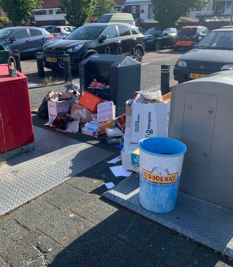 Extra afvalrondes leiden niet meteen tot schone straten in Westland