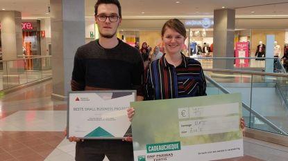 Studenten vallen in de prijzen met 'Small Business Project'
