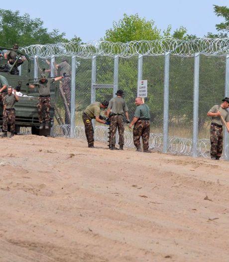 La barrière antimigrants installée d'ici fin août en Hongrie