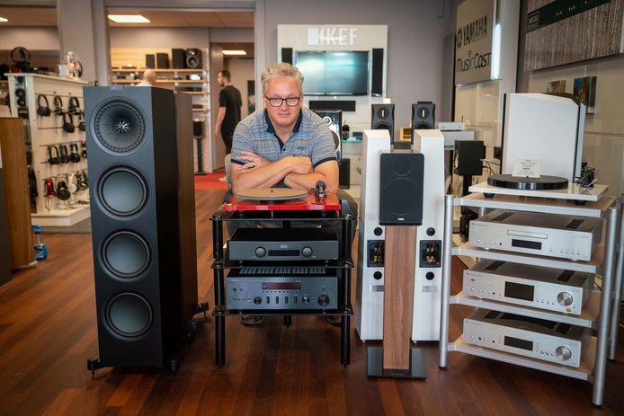 Winkelier Harald Strik hoopt met behulp van een nieuwe cursus van de HAN voorbereid te zijn op de effecten van de coronacrisis