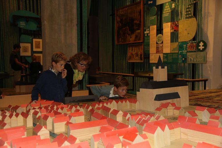Vooral de maquette van de stad is voor veel bezoekers de topper van de tentoonstelling.