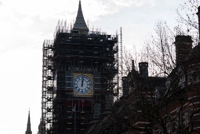 Momenteel wordt de Big Ben gerestaureerd.