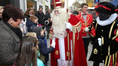 Sinterklaasfeest in parochiezaal