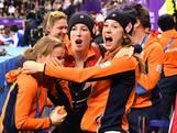 Brons en wereldrecord voor Nederlandse vrouwen op relay