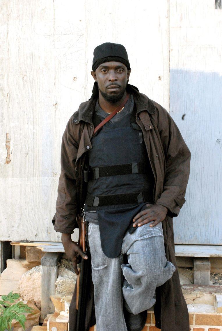 (8) Het personage Omar Little uit The Wire (2002, HBO) is een angstaanjagende crimineel met hoge morele principes én is homo. Beeld Ronald Grant Archive / Mary Evan