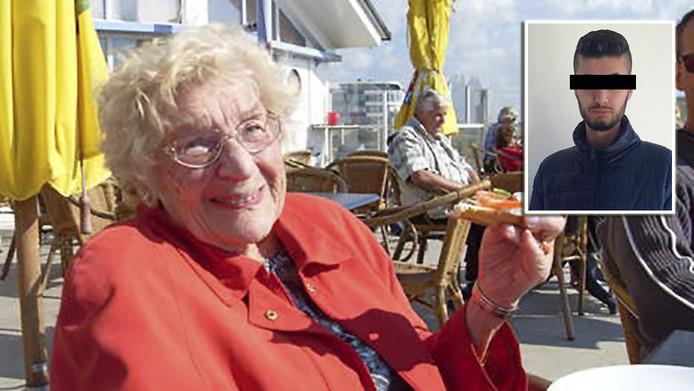Oma Toni en, als inzetje, Vino H.