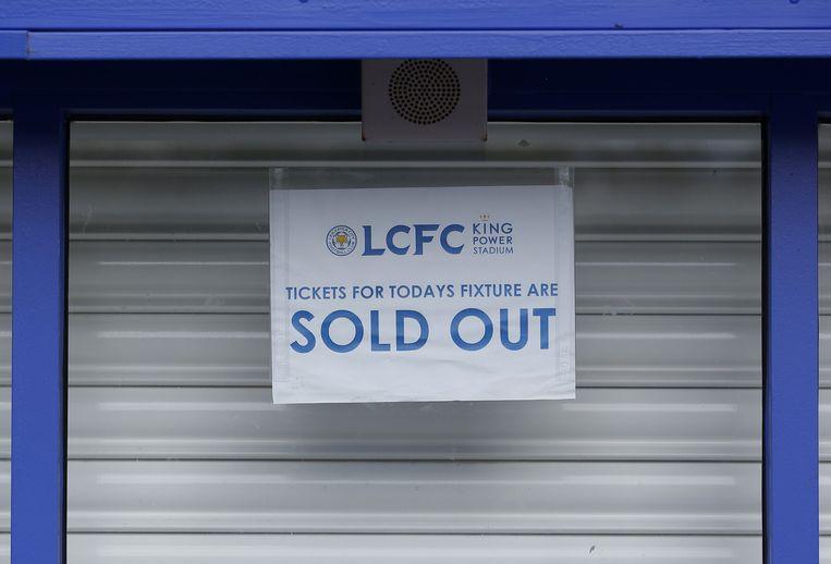 De wedstrijd tegen West Ham United is uitverkocht. Beeld reuters