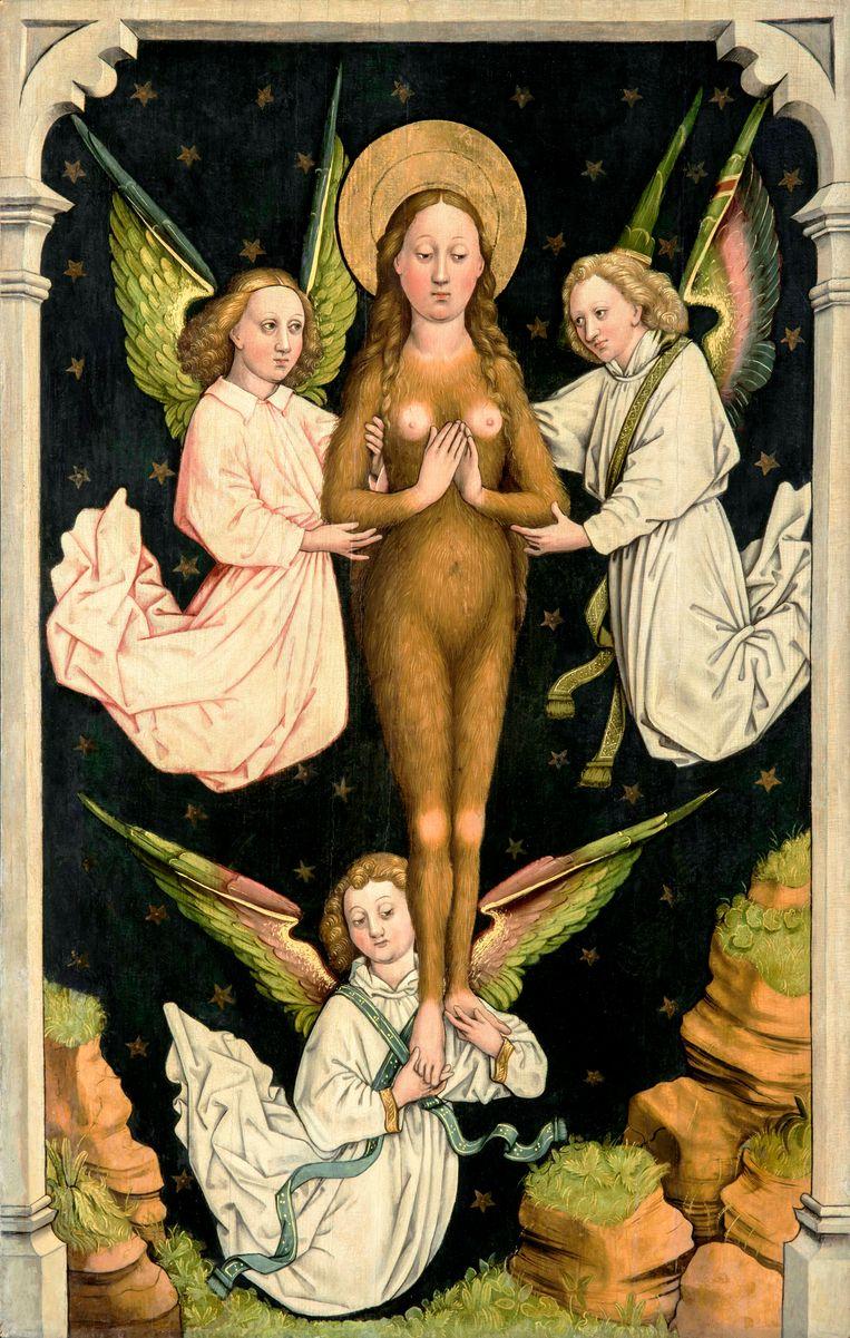 Maria Magdalena als wildevrouw. Beeld Suermondt-Ludwig-Museum