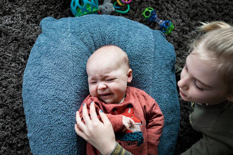 Na baby Pia: baby Victor Verdonckt. Victor heeft mogelijk ook het peperduur medicijn Zolgensma nodig, zeggen zijn ouders Kristoffel Verdonckt en Sigrid Courselle – allebei 36 – uit het West-Vlaamse Moorsele.