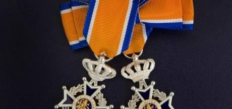 Koninklijke onderscheidingen voor zes leden vrijwillige brandweer in Boxtel