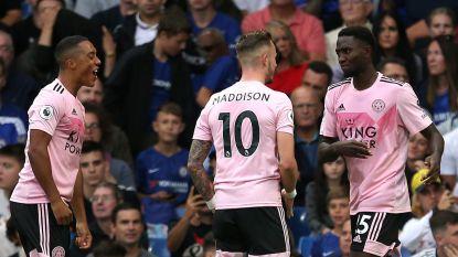 Chelsea komt niet verder dan gelijkspel tegen Leicester, hoofdrol voor Ndidi